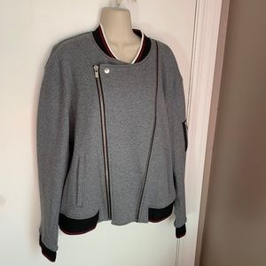 The Kooples cotton bomber jacket